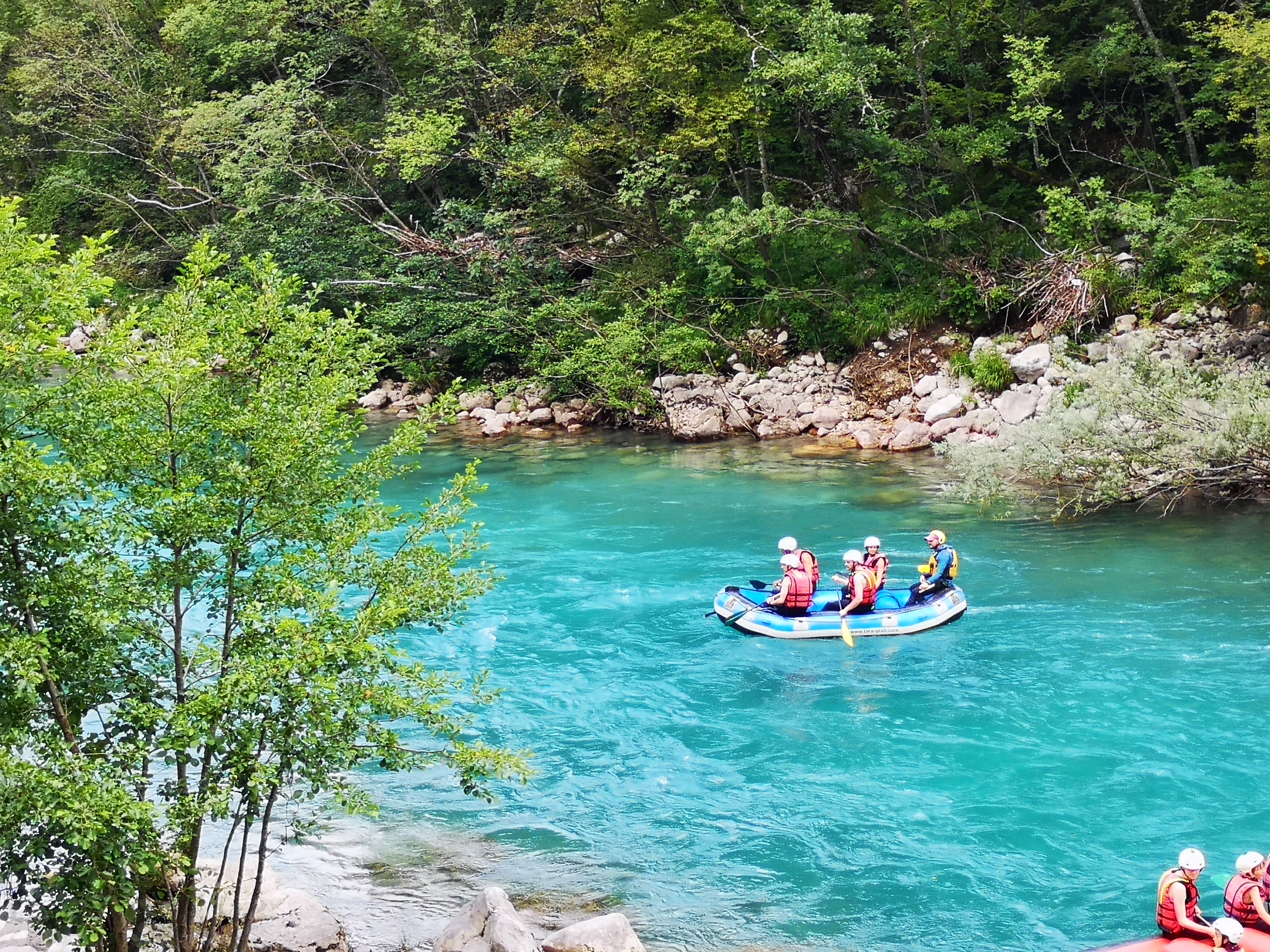 calm rafting