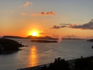 Elafiti sunset
